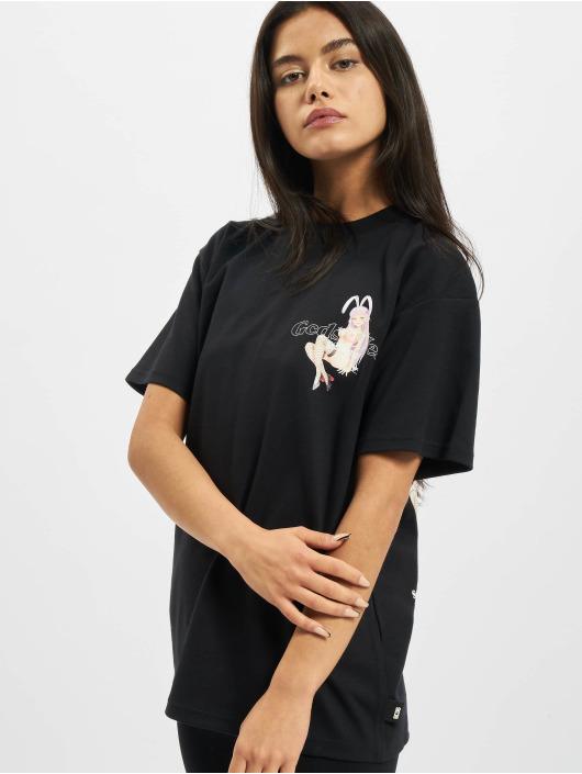 GCDS T-Shirt HENTAI MAG black