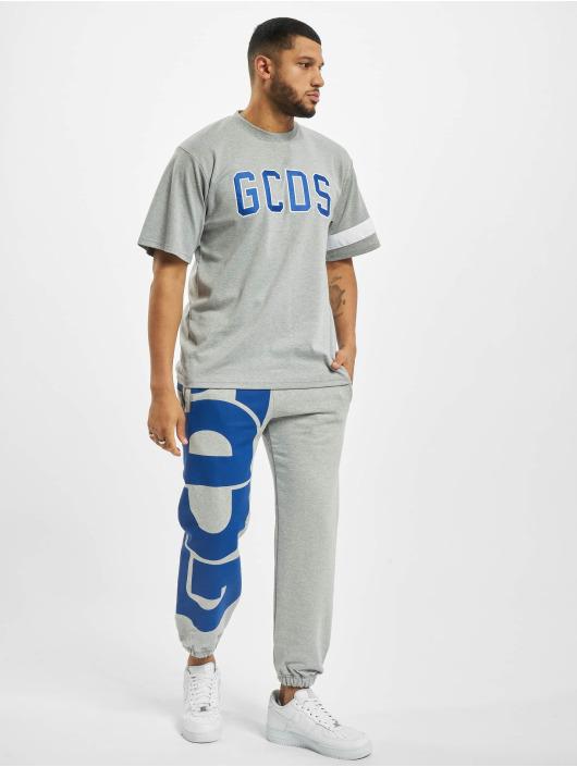 GCDS T-shirt Logo grigio