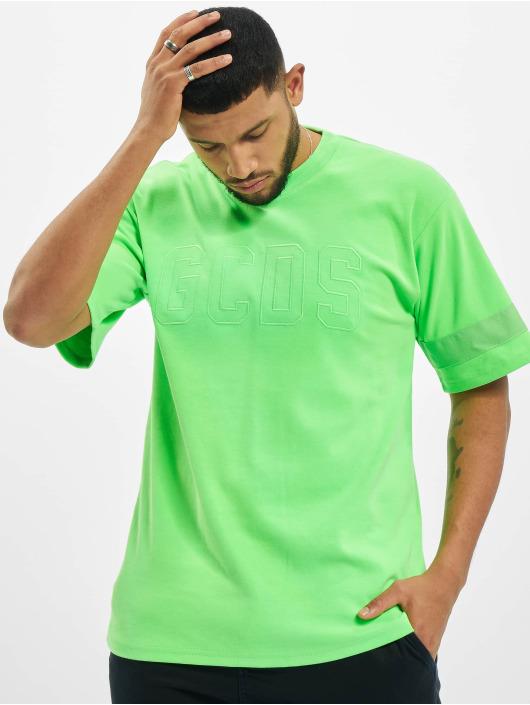 GCDS T-shirt Logo grön