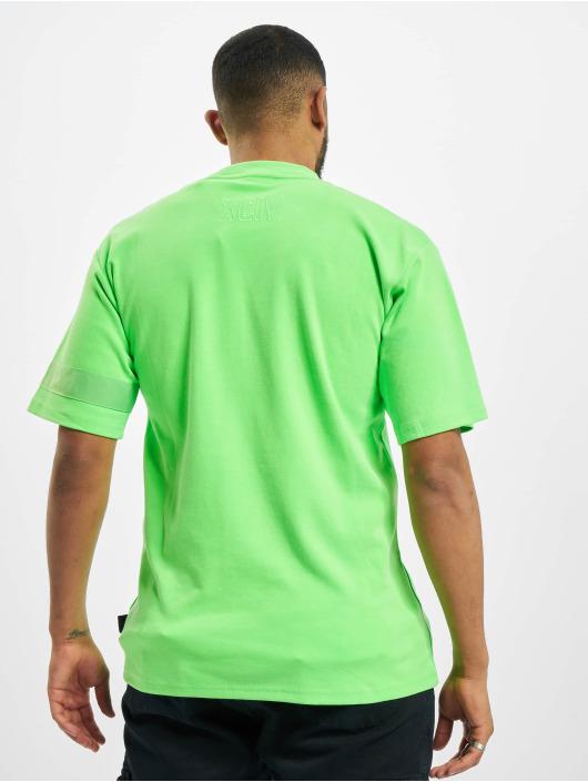 GCDS T-Shirt Logo grün