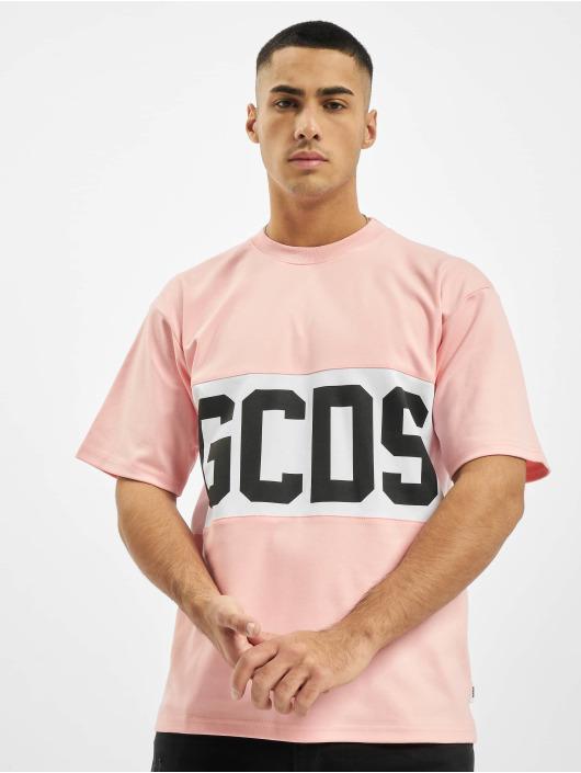 GCDS T-Shirt Logo magenta