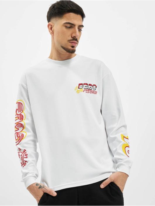 GCDS T-Shirt manches longues KAWAII blanc