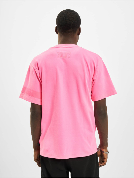 GCDS T-Shirt Fluo Logo pink