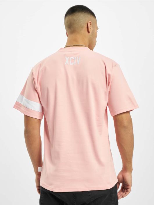 GCDS T-shirt Logo rosa
