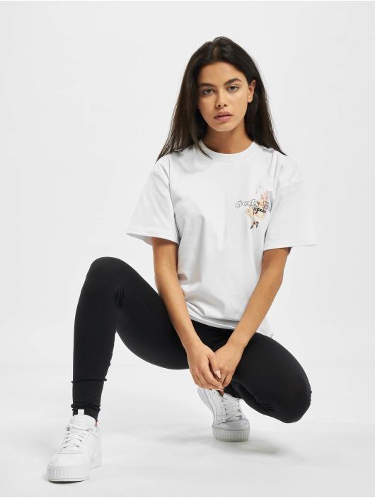 GCDS T-Shirt HENTAI MAG weiß