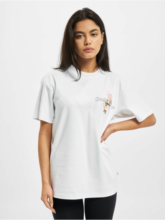 GCDS T-Shirt HENTAI MAG white