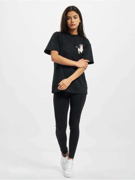 GCDS t-shirt HENTAI MAG zwart