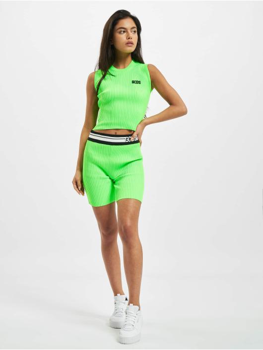 GCDS Top Basic green