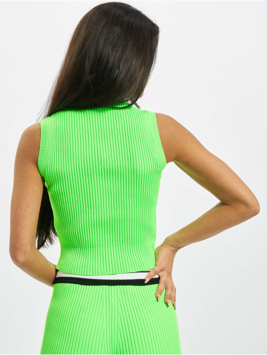 GCDS Tops Basic zielony