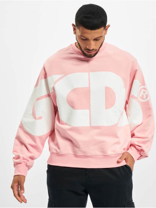 GCDS Trøjer Macro Logo Round pink