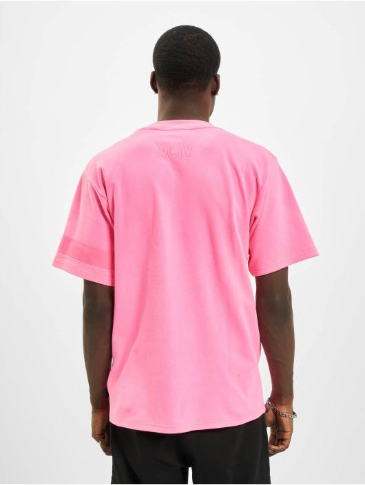 GCDS Trika Fluo Logo růžový