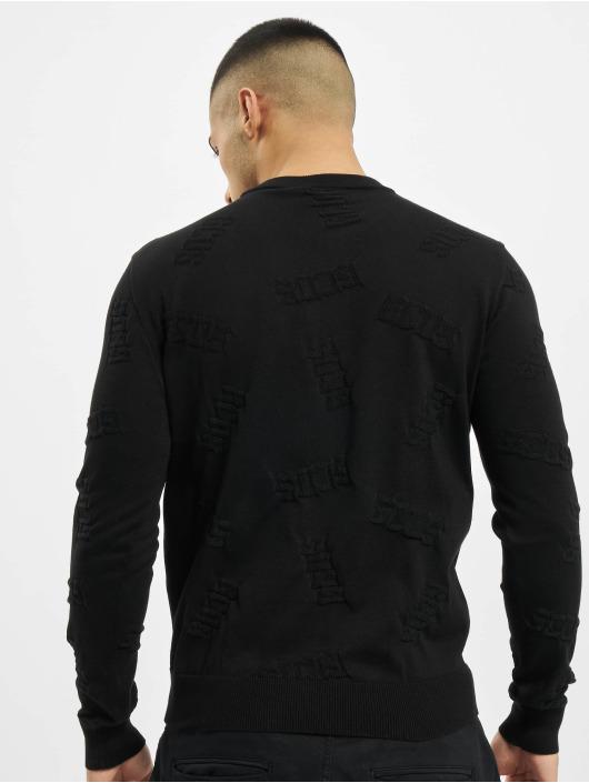 GCDS Tröja Layer svart