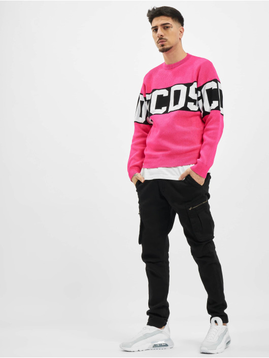 GCDS trui Fluo Logo pink