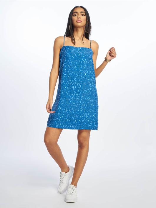 Glamorous Šaty Pin Spot modrá