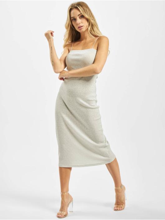 Glamorous Šaty Juna strieborná