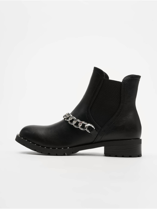 Glamorous Boots Ankle negro