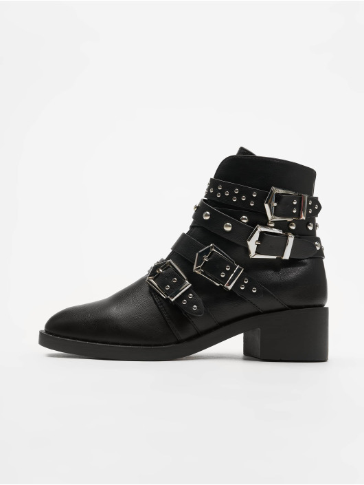 Glamorous Boots Ladies Ankle negro