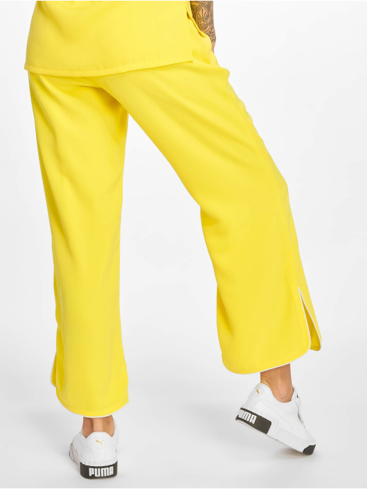 Glamorous Cargo Nohavice Ladies žltá