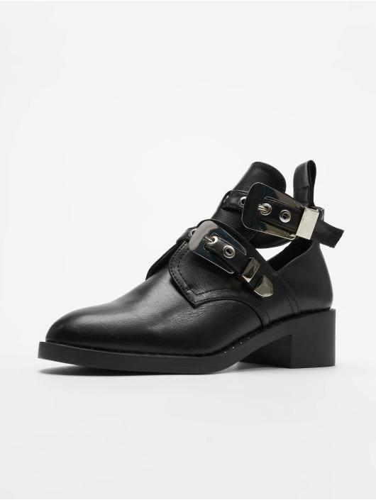 Glamorous Chaussures montantes Belt noir