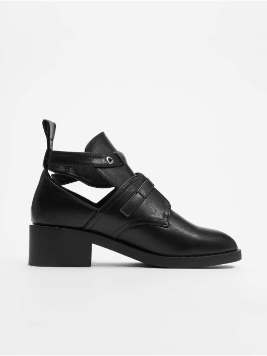 Chaussures Montantes 620282 Glamorous Belt Noir Femme CxrdBoe