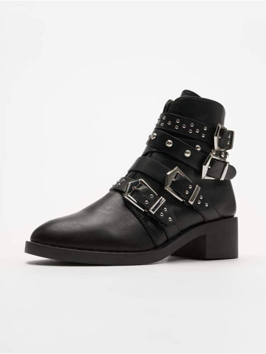 Glamorous Chaussures montantes Ladies Ankle noir