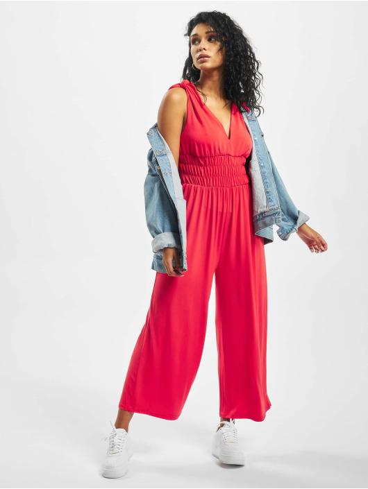 Glamorous jumpsuit Greta rood