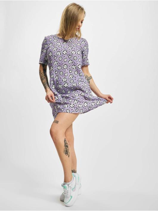 Glamorous Kleid Flower violet