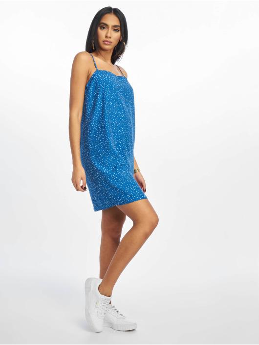 Glamorous Robe Pin Spot bleu