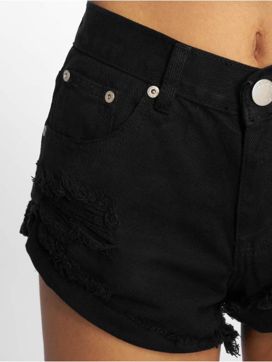Glamorous Short Fransen black