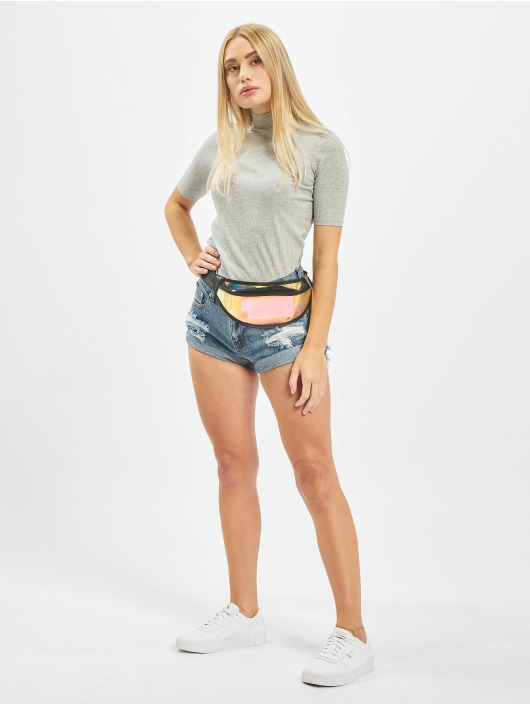 Glamorous Shorts Fray blå