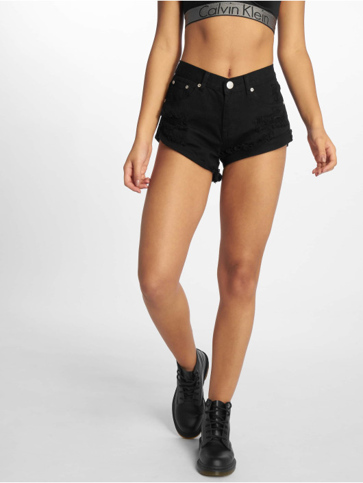 Glamorous Shorts Fransen svart