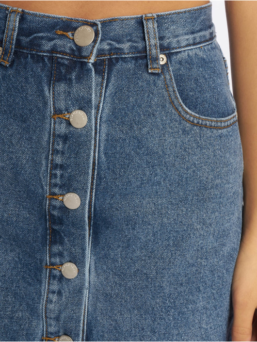 Glamorous Sukňe Buttons modrá