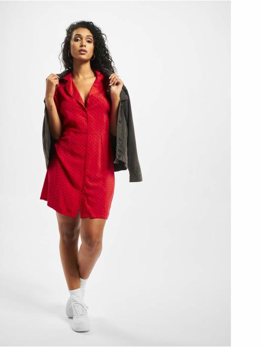 Glamorous Sukienki Hearts czerwony
