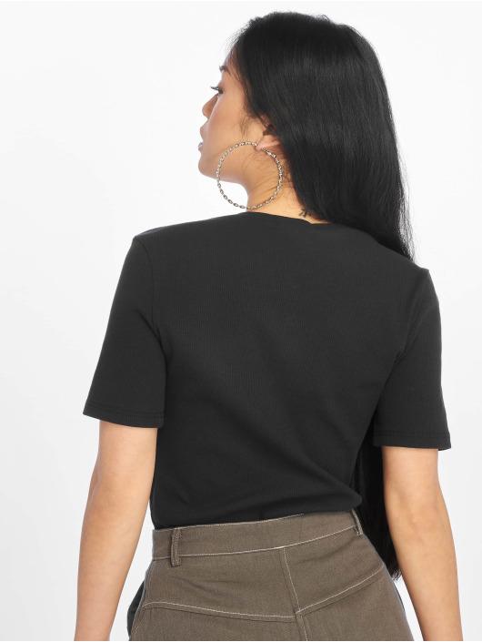 Glamorous T-Shirt Ripped schwarz