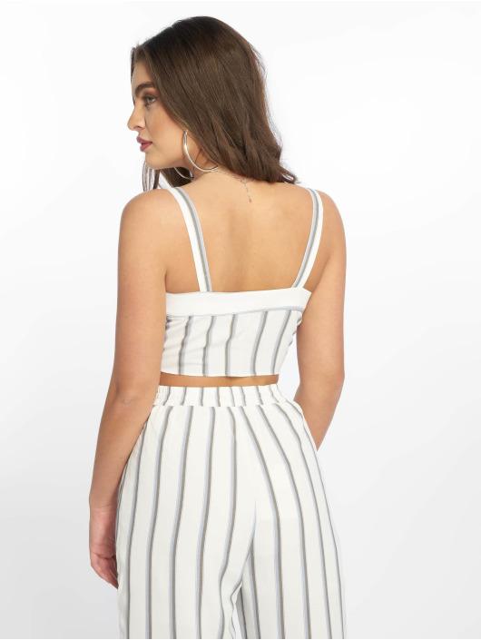 Glamorous Topy/Tielka Striped biela