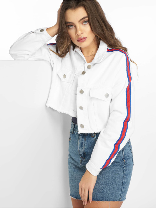 3aed47ff45 Glamorous | Lisa blanc Femme Veste Jean 597700