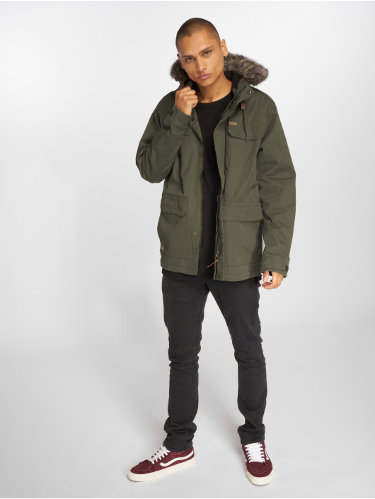 Globe Manteau hiver Goodstock Thermal olive