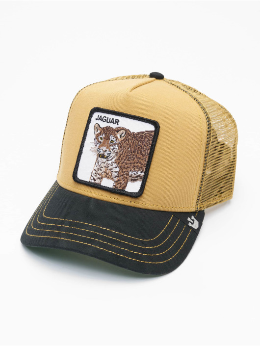 Goorin Bros. Casquette Trucker mesh Bros. Jaguar beige