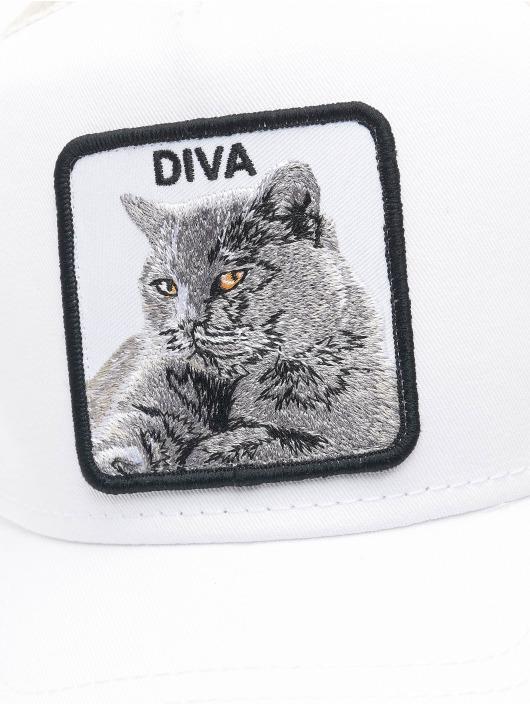 Goorin Bros. Casquette Trucker mesh Diva Stance blanc