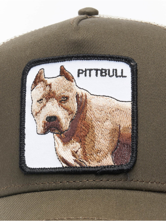 Goorin Bros. Casquette Trucker mesh Pitbull gris