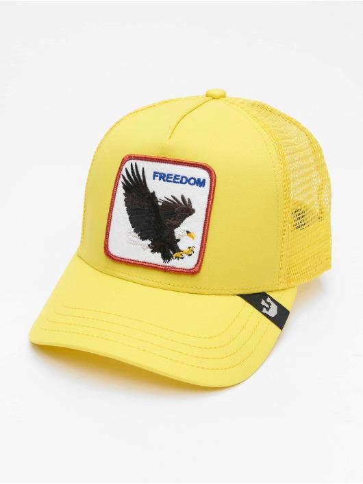 Goorin Bros. Casquette Trucker mesh Freedom jaune
