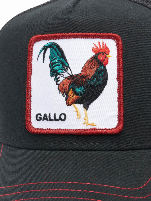 Goorin Bros. Casquette Trucker mesh Grande Gallo noir