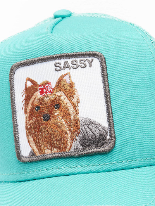 Goorin Bros. Casquette Trucker mesh Sassy Lady turquoise