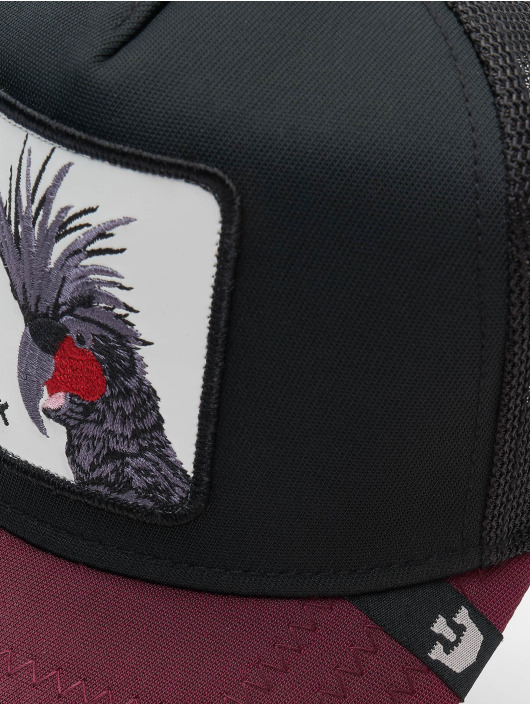 Goorin Bros. Trucker Cap Punk Sqwauk black