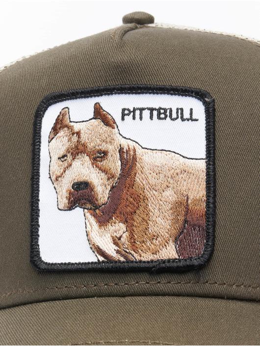 Goorin Bros. trucker cap Pitbull grijs