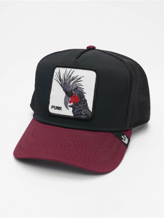 Goorin Bros. Trucker Cap Punk Sqwauk schwarz