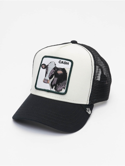 Goorin Bros. Trucker Cap Cash Cow schwarz