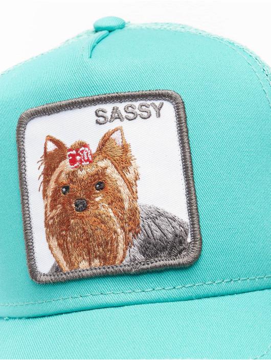 Goorin Bros. trucker cap Sassy Lady turquois