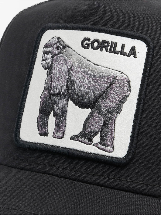 Goorin Bros. Trucker Caps King Of The Jungle czarny
