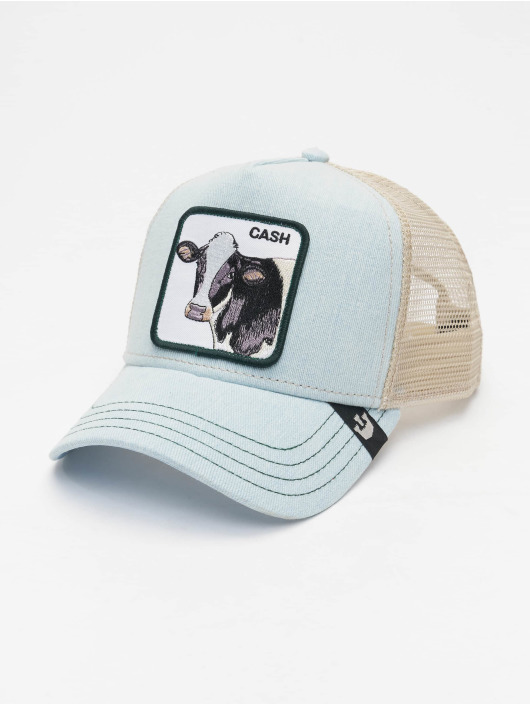 Goorin Bros. Trucker Caps Cash Cow niebieski
